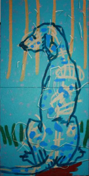 Pintura - Cão Faiança