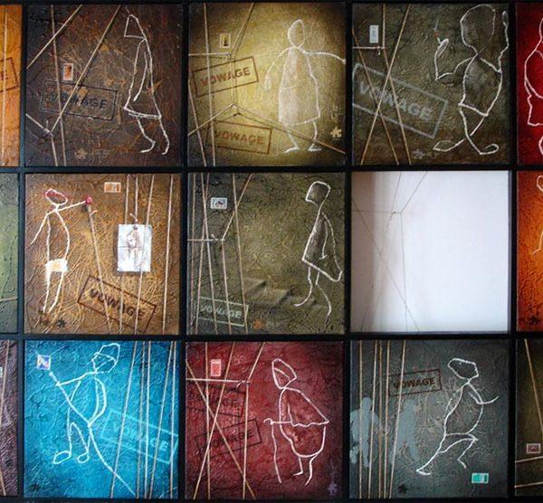 FV031A Composição De Obras Da Colecção VOWAGE