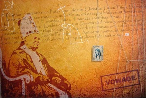 Pintura do Papa João Paulo II