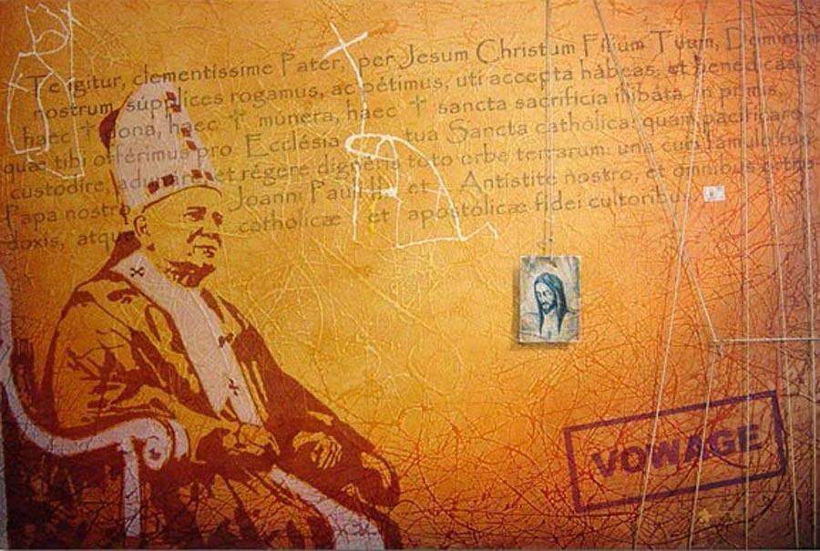 In Nomine Patris, Et Filii Et Joanni Pauli II – Pintura