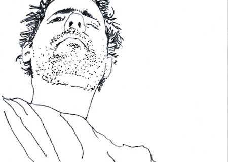 Desenho – auto-retrato 2